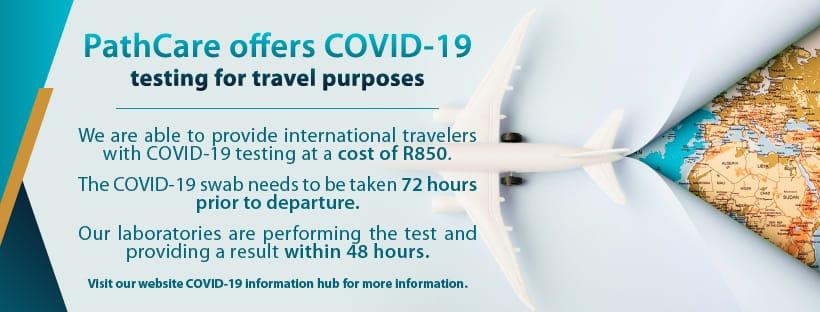 COVID-19 Travel Testing