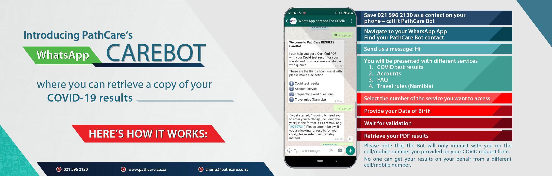 Whatsapp Carebot Slider